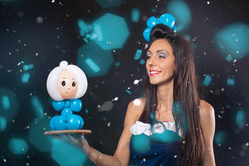 Animation pour enfants sur toulon, sculpture sur ballons