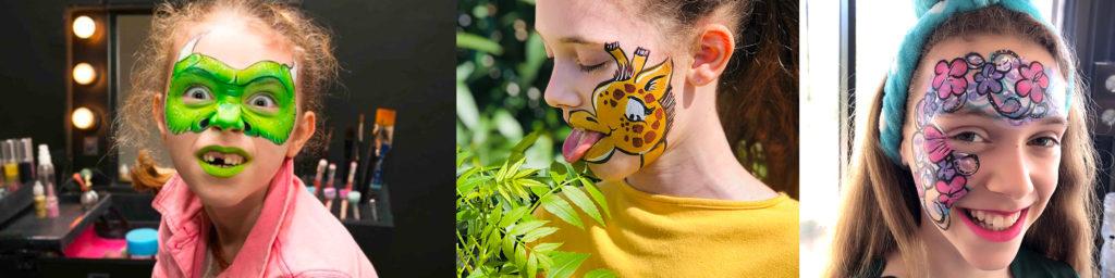 maquillage pour enfant artistique sur Toulon
