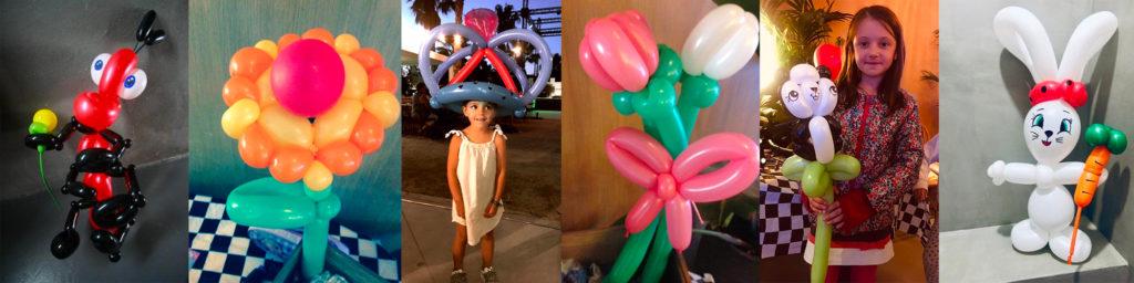 Sculpture sur ballon pour votre animation enfants sur Toulon